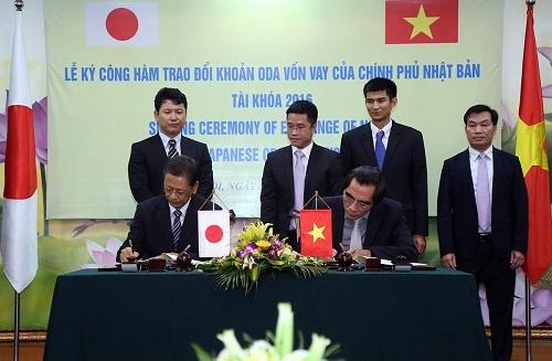 Japan loans Việt Nam US108.2 m