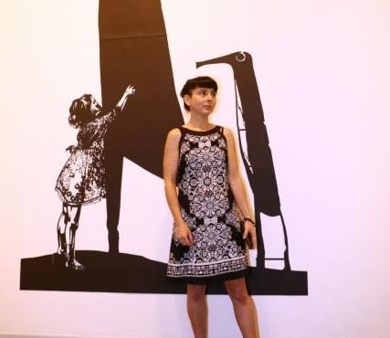 German artist inspired by Truyện Kiều displays work