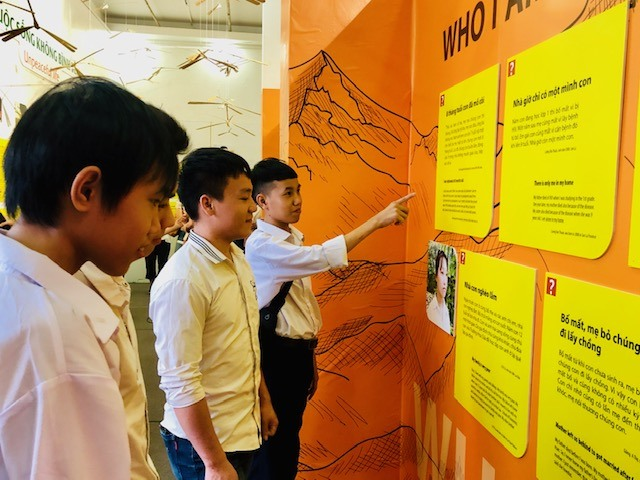 Exhibition shares orphans dreams