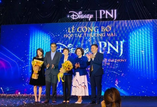 PNJ signs deal with Walt Disney to use its images