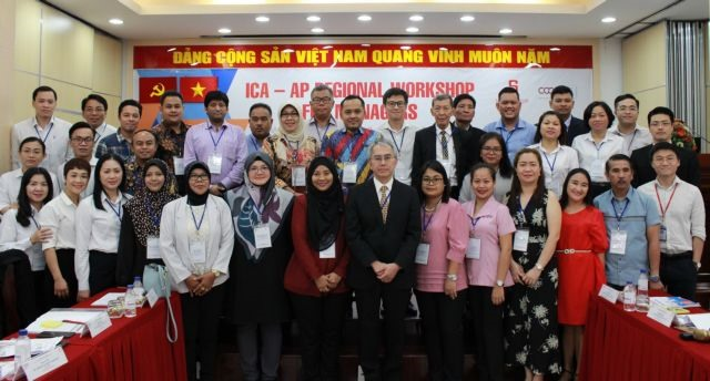 ICA-AP regional workshop for managers opens in HCM City