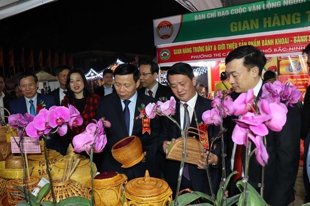 Vietnamese goods on show at fair in Bắc Ninh