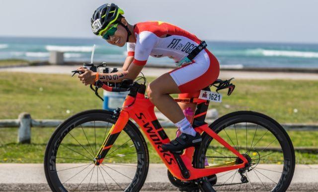 Triathlete offers inspirational story