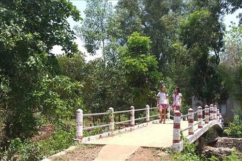 Fixing bridges helps villagers come together
