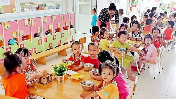 Preschoolsin HCM Citysindustrial parks needmore support