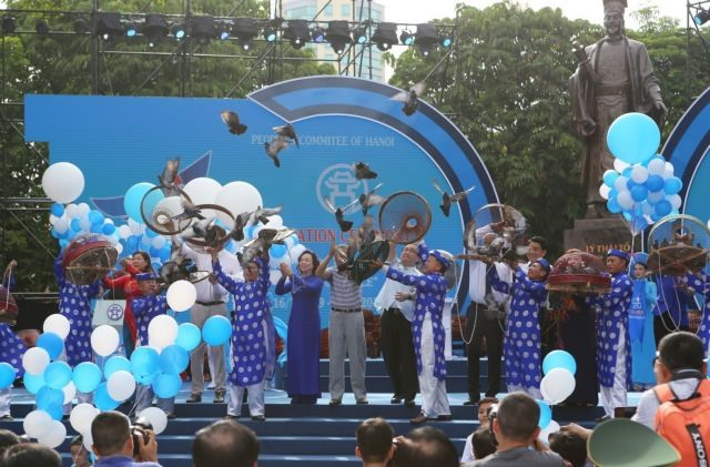 Ceremony marks 20 years since Hà Nội was named a 'City for Peace