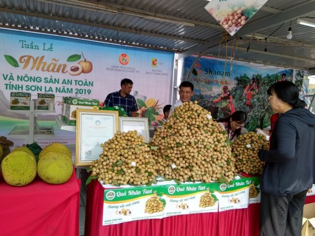 Sơn La Longan and Safe Farm Produce Week 2019 launched in Hà Nội