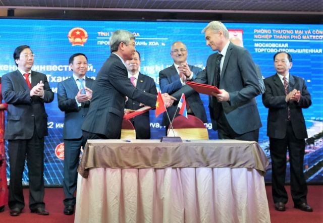 Conference highlights investment tradeopportunities in Thanh Hóa