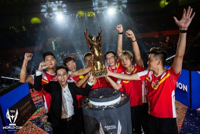 E-sports take off in VN after team wins world championship
