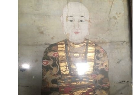 Ancient painting in Ninh Bình in need of restoration