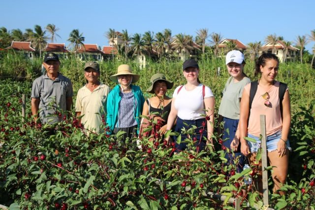 Villagers benefit from revivingnatural farming practices