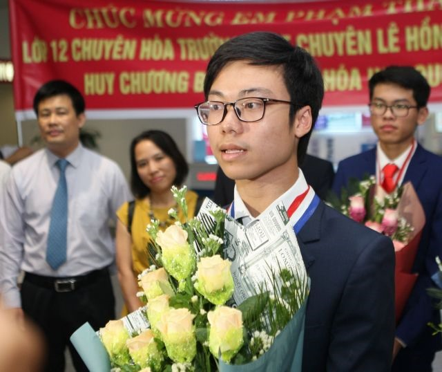 Student has the right mix to conquer International Chemistry Olympiad