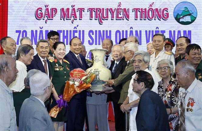 PM attends gathering on 70th anniversary of military school