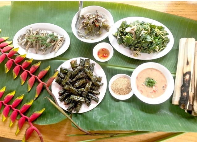 Delicacies imbued with medicinal qualities