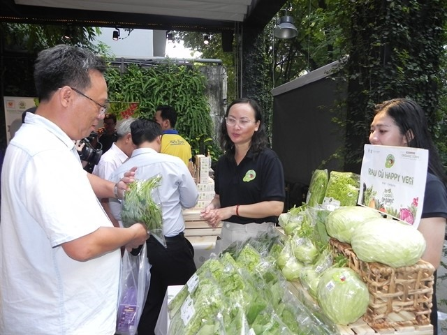 Organic Town – GIS Market opens in HCM City