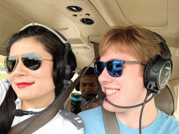 Vietnamese-American woman blazes trail for female pilots