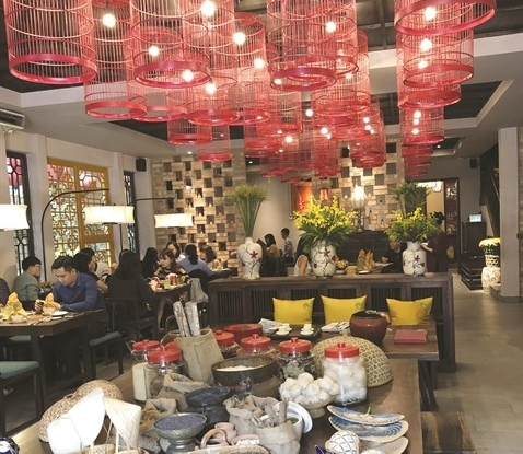 Vietnamese traditional delights in a family-like ambience