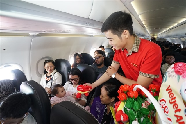 Vietjet launches promotion to celebrate International Womens Day