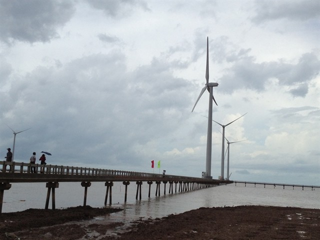 Bạc Liêu wind power plant marks one billionth kWh