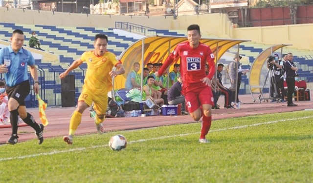 Late top-drawer strike is enough for Hải Phòng
