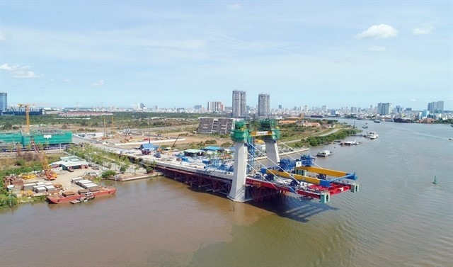Thủ Thiêm 2 Bridge to open to traffic by early 2021