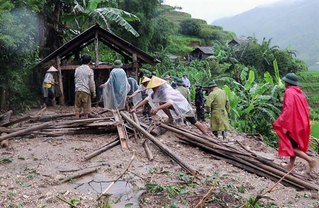 Five die in Hà Giang heavy rain