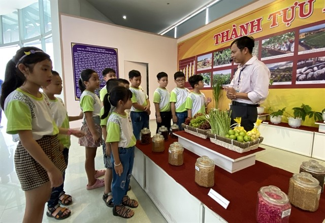 Exhibition highlights Ninh Thuậns achievements