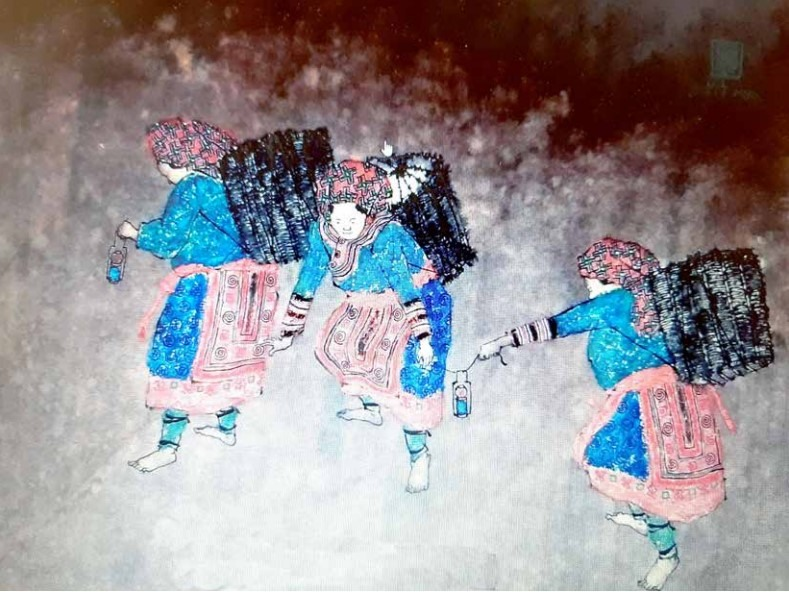 Novel approach to traditional sơn mài artworks