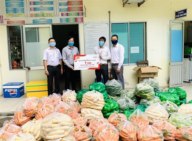 Central Retail donates 10 tonnes of fruits vegetables to support COVID-19 fight in Đà Nẵng