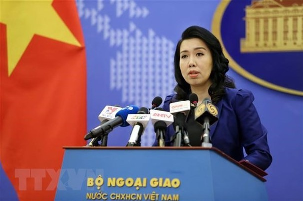 Chinas activities in Hoang Sa Truong Sa without permission violate Việt Nams sovereignty: spokeswoman