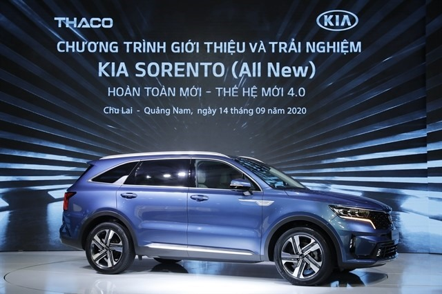 THACO launches all new KIA SORENTOwith brand new design and technologies