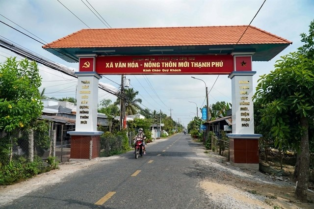 Cần Thơ becomes first in Mekong Delta to complete task of building new-style rural areas