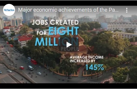 Major economic achievements of the Partys 12th tenure