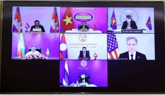 Mekong-US Partnership meeting stresses cooperation on sustainable development