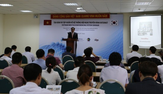 RoK support Việt Nam in teleconferencing