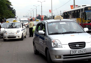 City to crack down on illegally-parked taxis