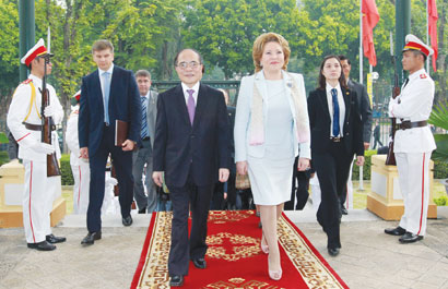VN targets closer ties to Russia