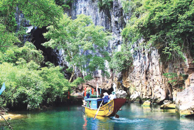 Quang Binh cave discoveries tipped to boost local tourism