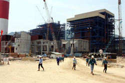 Vung Ang plant project speeds up