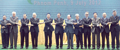 Foreign Minister joins ASEAN talks in Cambodia