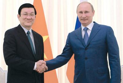 Viet Nam Russia agree to elevate strategic ties