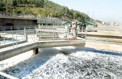 Wastewater treatment still fails to meet green standard