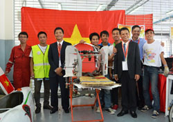 Students win prize at Asian 'eco-marathon