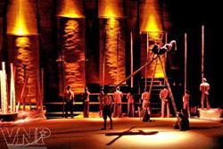Circus celebrates village culture