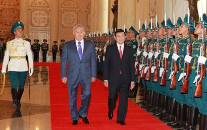 Kazakhstan ties given a lift