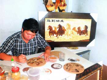 Rice gains new lease on life in artists hands