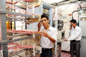 Telecoms industry leads development