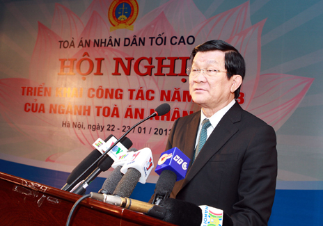 President urges end to wrongful verdicts