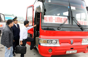 Transport companies ready to serve passengers during Tet