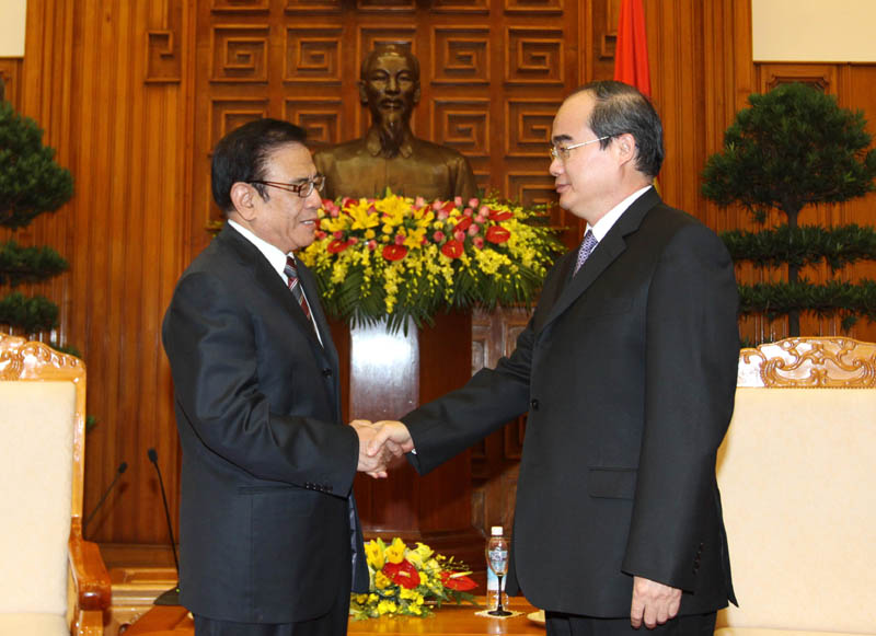 Deputy PM greets China–Vietnam Association Chairman